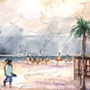 Port Alcudia Beach 01 Art Print