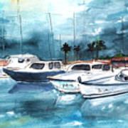 Port Alcudia Harbour 01 Art Print