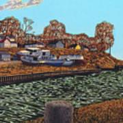 Port Burwell, Ontario Art Print