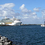 Port Canaveral In Floirda Art Print