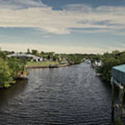 Port Charlotte Atlantus Waterway From Ohara Art Print