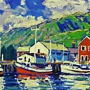 Port De Peche' Art Print