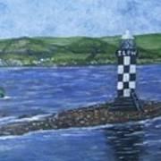 Port Glasgow, Perch Lighthouse Art Print