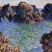 Port Goulphar Belle Ile Brittany Art Print