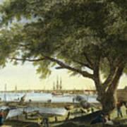 Port Of Philadelphia, 1800 Art Print by Granger