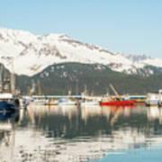 Port Of Seward Alaska  Art Print