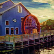 Port Orleans Riverside Art Print
