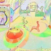 Portals And Perspectives Art Print