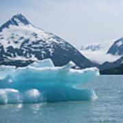 Porter Glacier Alaska II Art Print
