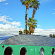 Portholes Palm Springs Art Print