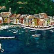 Portifino Italy Art Print