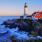 Portland Head Light II Art Print