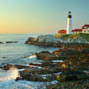 Portland Head Light No. 2  Art Print by Jon Holiday