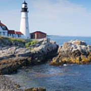 Portland Head Lighthouse Portland Me Art Print