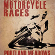 Portland Meadows Art Print