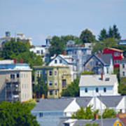Portland Rooftops Art Print