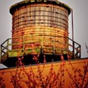 Portland Water Tower IIi Art Print