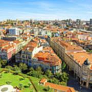 Porto Panorama Skyline Art Print