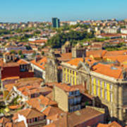 Porto Skyline Portugal Art Print