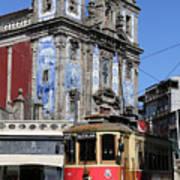 Porto Trolley 1 Art Print