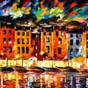 Portofino - Liguria Italy Art Print