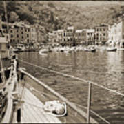 Portofino Italy From Solway Maid Art Print