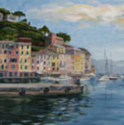Portofino Port Art Print