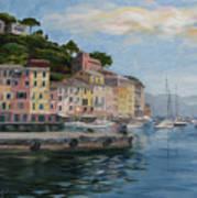 Portofino Port Print by Jay Johnson