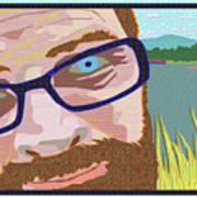 Portrait At Lake Junaluska Art Print