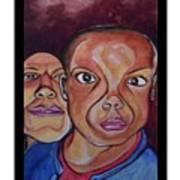 Portrait Eul And Dhani Art Print