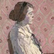 Portrait In Profile Art Print