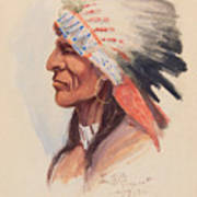 Portrait Of A Chief Art Print