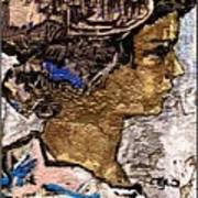 Portrait Of A Girl Pog2 Art Print