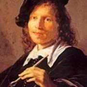 Portrait Of A Man 1640 Art Print