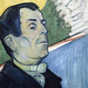 Portrait Of A Man Art Print