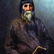 Portrait Of A Peasant 1889 Ilya Repin Art Print
