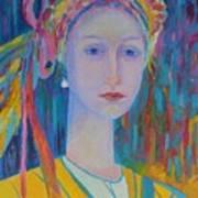 Polish Folk Art Art Print