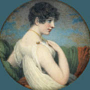 Portrait Of A Woman  Art Print