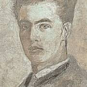 Portrait Of A Young Artist 3 Art Print
