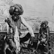 Portrait Of An Indian Fakir Art Print