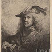 Portrait Of An Officer Art Print