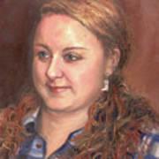 Portrait Of Andrea Art Print