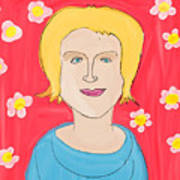 Portrait Of Ania Art Print