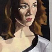 Portrait Of Becca Art Print