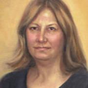 Portrait Of Birdie Art Print