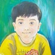 Portrait Of Bybob Unfinished Art Print