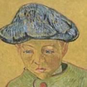 Portrait Of Camille Roulin Art Print