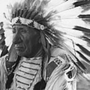 Portrait Of Chief Red Cloud Art Print