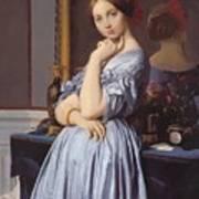 Portrait Of Countess D Haussonville Art Print