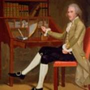 Portrait Of David Baldwin 1790 Art Print
